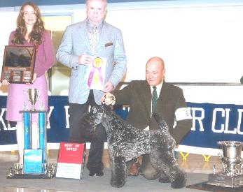 Aran winning specialty of Nor Cal KBT club, 3rd year in a row- October 2006